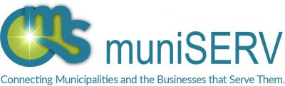 muniSERV logo with new tagline